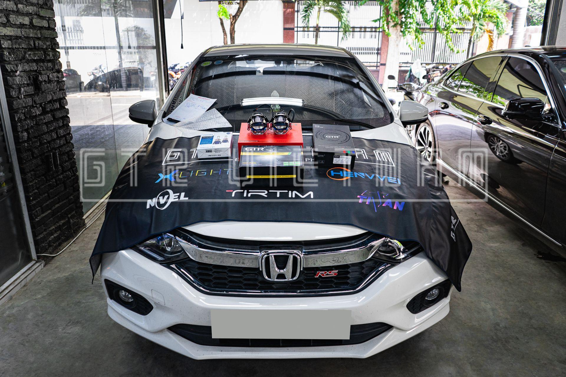 Độ đèn Laser Tirtim Tls350 Honda City