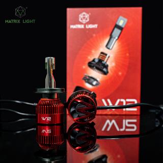 BÓNG LED MATRIX LIGHT W12 CHÂN H4