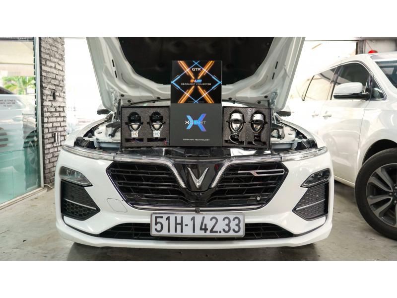 Độ đèn nâng cấp ánh sáng Vinfast sa2.0 Độ đèn G-Led X & X-Light V20L