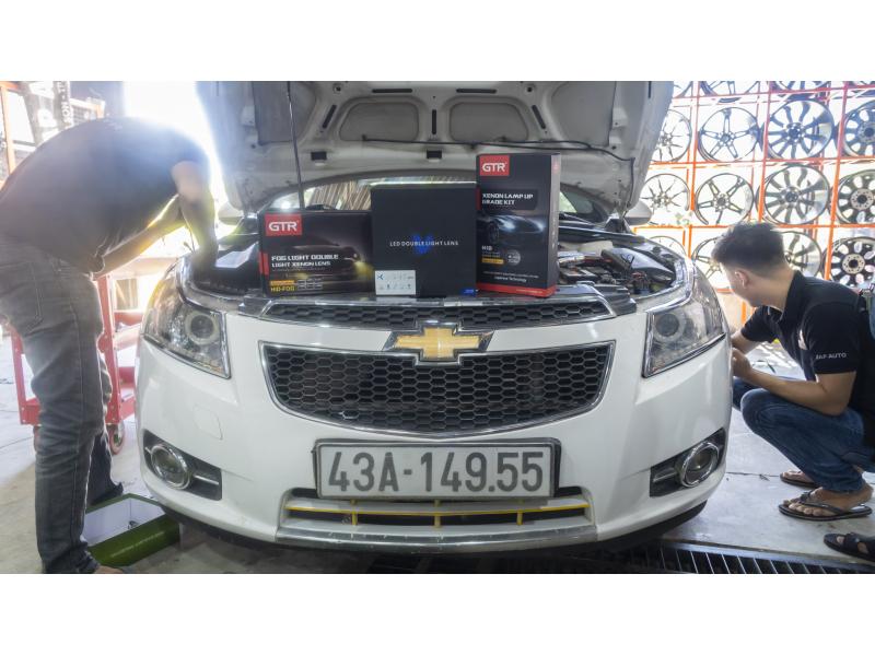 Độ đèn nâng cấp ánh sáng NÂNG CẤP ÁNH SÁNG BI V10 + NÂNG CẤP BI GẦM GTR SE 150PLUS