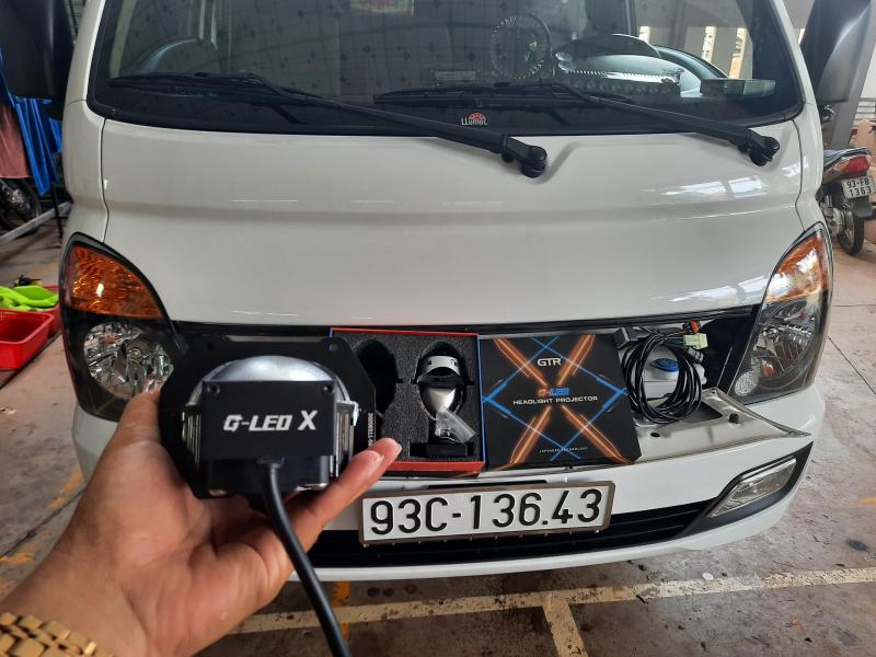 Độ đèn nâng cấp ánh sáng Nâng cấp ánh sáng Bi GTR GLed X