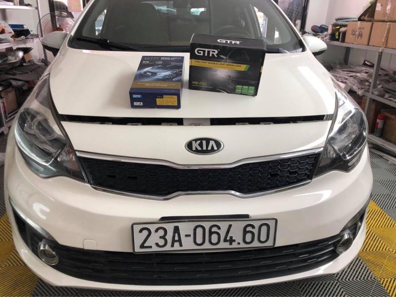 Độ đèn nâng cấp ánh sáng Nâng cấp Bi gầm GTR tăng sáng 150% cho KIA Rio