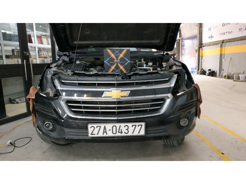 Độ đèn nâng cấp ánh sáng Bi GLed X cho Chevrolet Trailblazer