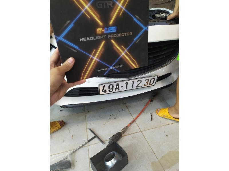 Độ đèn nâng cấp ánh sáng Nâng cấp ánh sáng Gled X xe Mazda 6