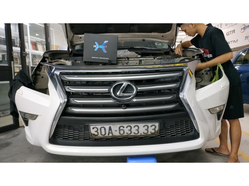 Độ đèn nâng cấp ánh sáng Bi Laser XLight V20L cho Lexus GX460