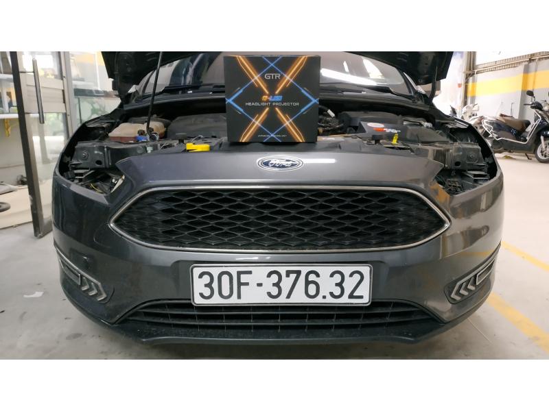 Độ đèn nâng cấp ánh sáng Bi Led GTR GLed X cho Ford Focus