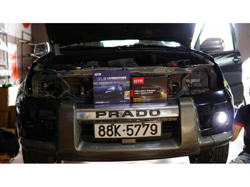Độ đèn nâng cấp ánh sáng Nâng cấp ánh sáng GTR GLS + Nâng cấp bi gầm GTR SE xe Prado
