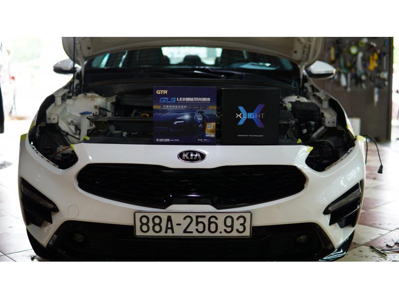 Độ đèn nâng cấp ánh sáng Nâng cấp ánh sáng GTR GLS + Xlight V10s xe Cerato