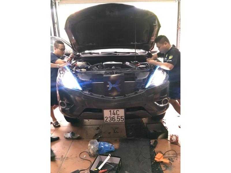 Độ đèn nâng cấp ánh sáng Nâng cấp ánh sáng Xlight V10L xe Hilux
