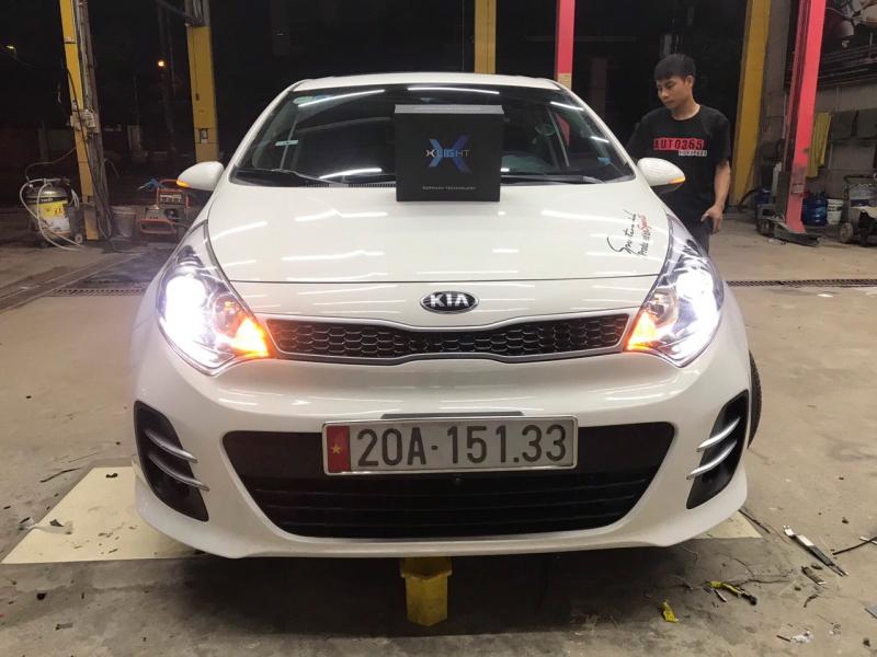 Độ đèn nâng cấp ánh sáng Nâng cấp ánh sáng Xlight V20 xe Kia Rio
