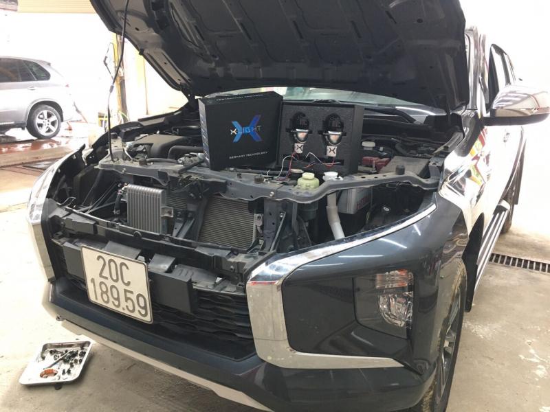 Độ đèn nâng cấp ánh sáng Nâng cấp ánh sáng Xlight V20 xe Triton