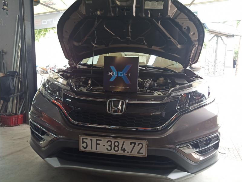 Độ đèn nâng cấp ánh sáng BI LED XLIGHT V30 XE CRV