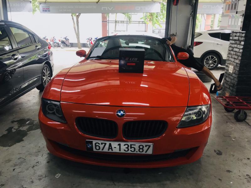 Độ đèn nâng cấp ánh sáng BI LED GTR PREMIUM XE BMW Z4 ROADSTER