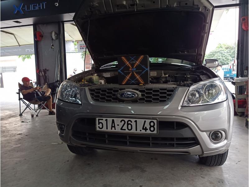 Độ đèn nâng cấp ánh sáng BI LED GTR G-LED X 2020 XE FORD ESCAPE