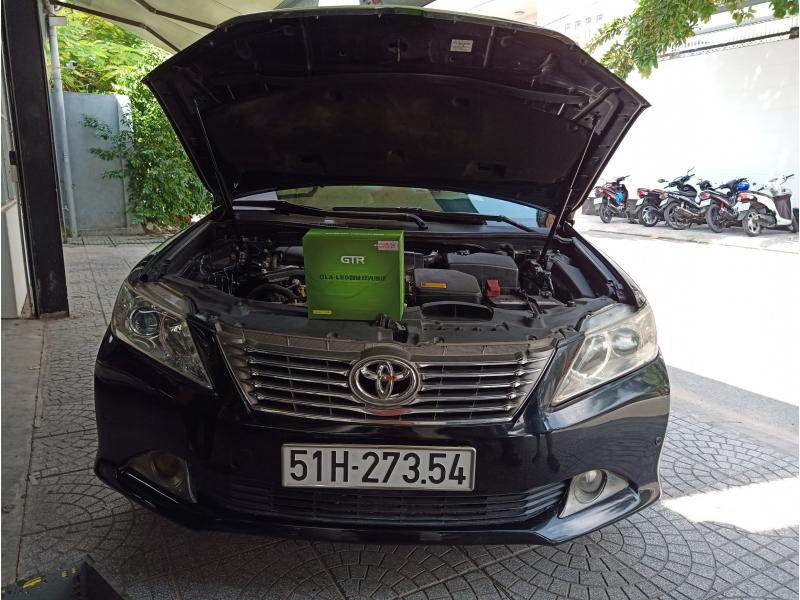 Độ đèn nâng cấp ánh sáng BI LED GTR V3SE CHO XE CAMRY