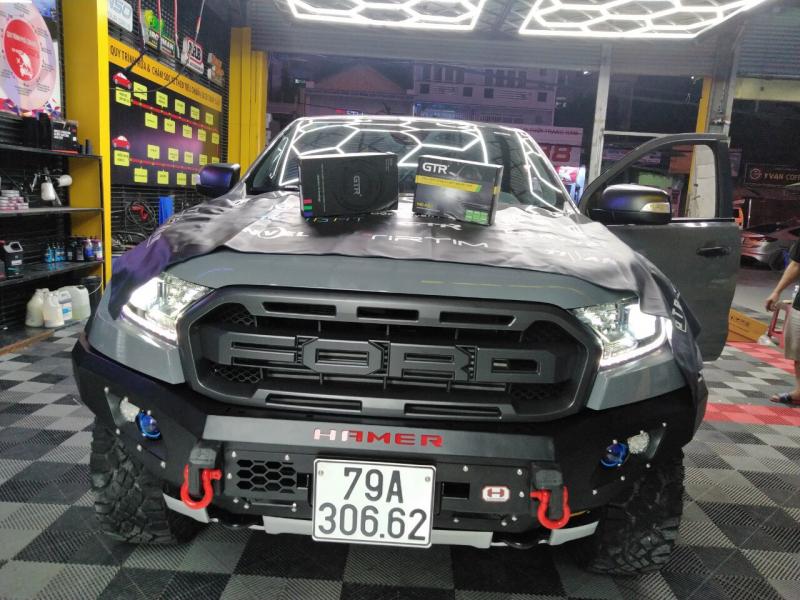 Độ đèn nâng cấp ánh sáng BI GẦM V2+ TĂNG SÁNG 180%( D2H5500) cho xe raptor