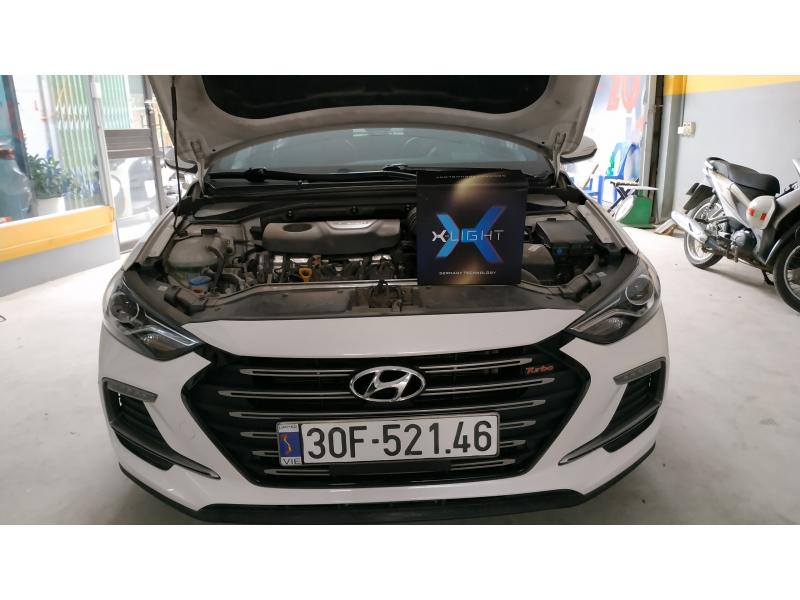 Độ đèn nâng cấp ánh sáng Bi Laser XLight V30L cho Hyundai Elantra Sport