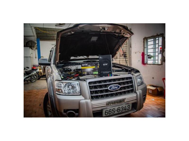 Độ đèn nâng cấp ánh sáng BI GẦM V2 TĂNG SÁNG 180% cho xe ford everest