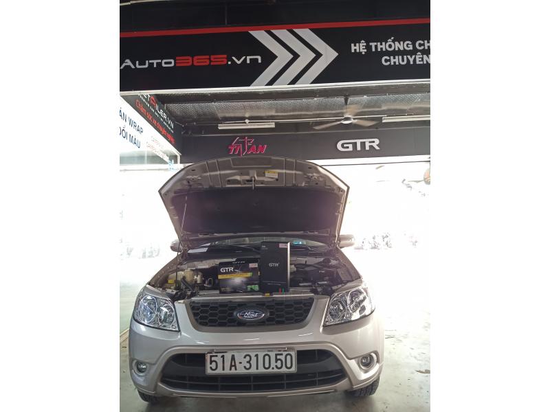 Độ đèn nâng cấp ánh sáng Bi Gầm v2 tăng sáng 180% xe Escape