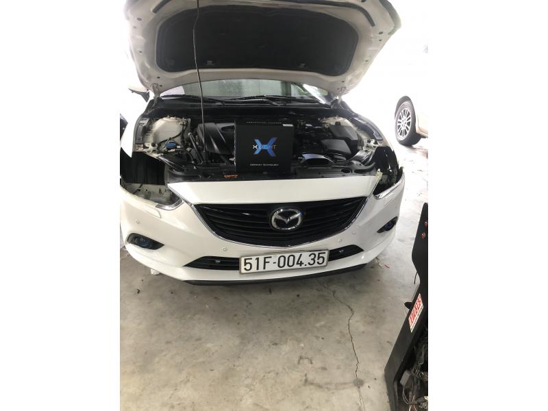 Độ đèn nâng cấp ánh sáng Bi Led Xlight V20 xe Mazda 6