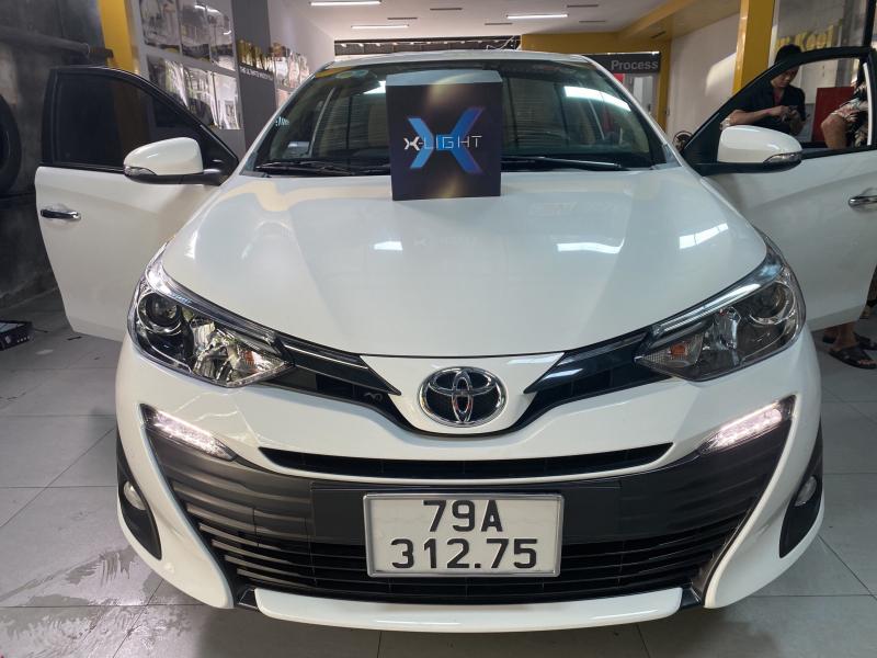 Độ đèn nâng cấp ánh sáng Bi laser X-Light V10L cho xe Vios - Nha Trang 275404