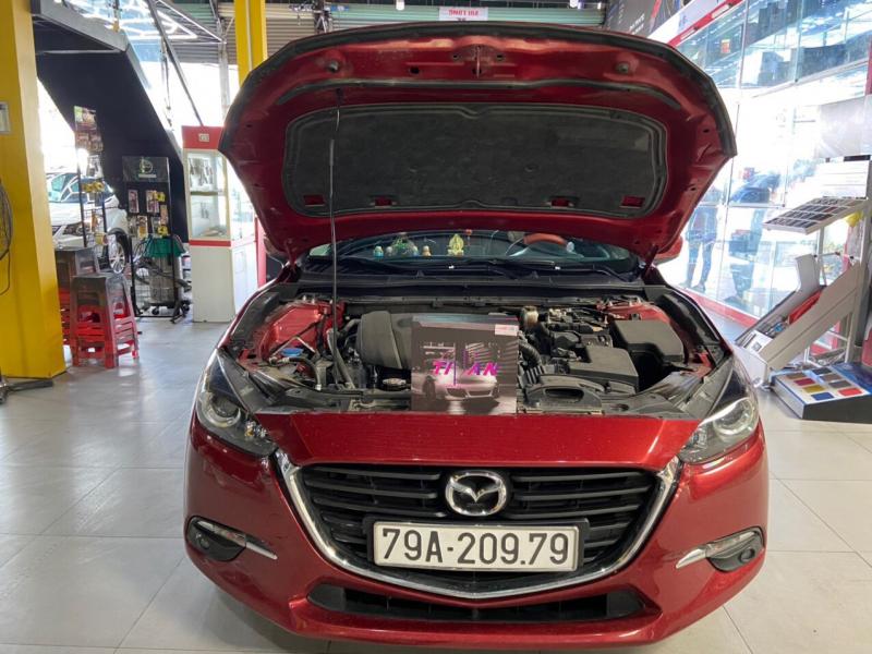 Độ đèn nâng cấp ánh sáng Bi Led Titan Black Cho Xe Mazda3 - Nha Trang 093979