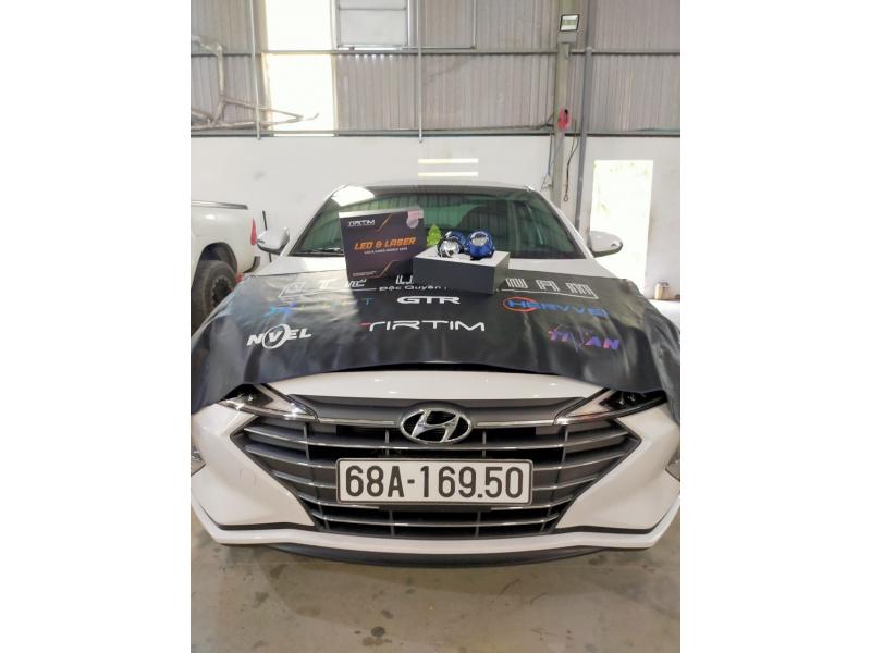 Độ đèn nâng cấp ánh sáng Bi led Tirtim S450 cho xe Elantra - Tiền Giang