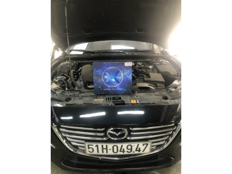 Độ đèn nâng cấp ánh sáng BI LASER X-LIGHT V20L XE MAZDA 3 - SÀI GÒN