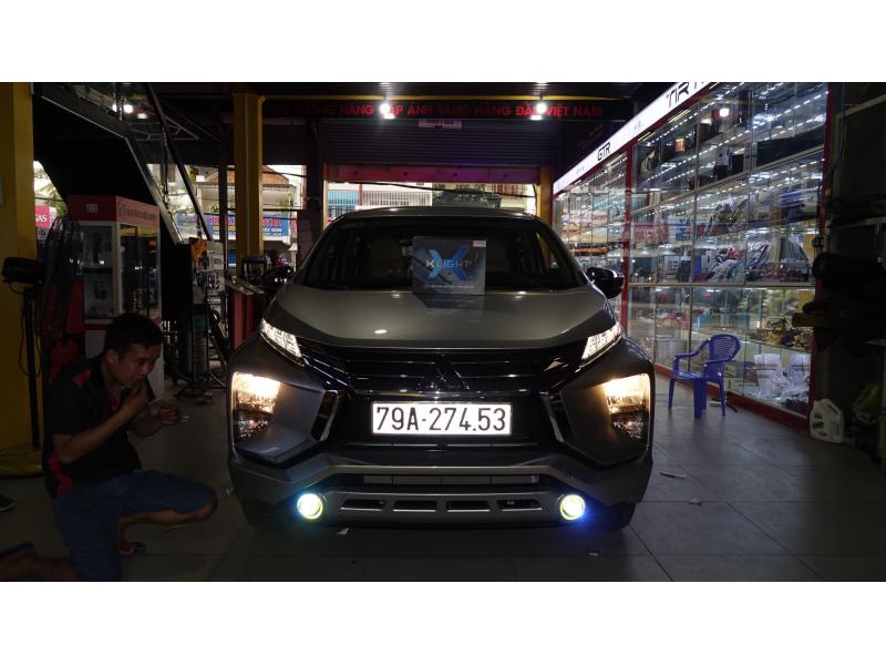 Độ đèn nâng cấp ánh sáng XPANDER - Bi xlight F10 2700K (Ford)