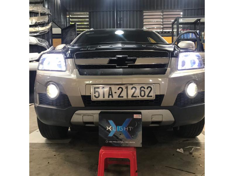 Độ đèn nâng cấp ánh sáng CHEVROLET -  BI GẦM LED F10