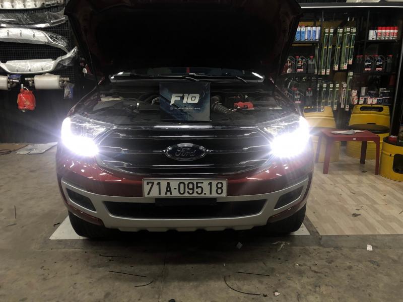 Độ đèn nâng cấp ánh sáng EVEREST - BI GẦM LED X-LIGHT F10