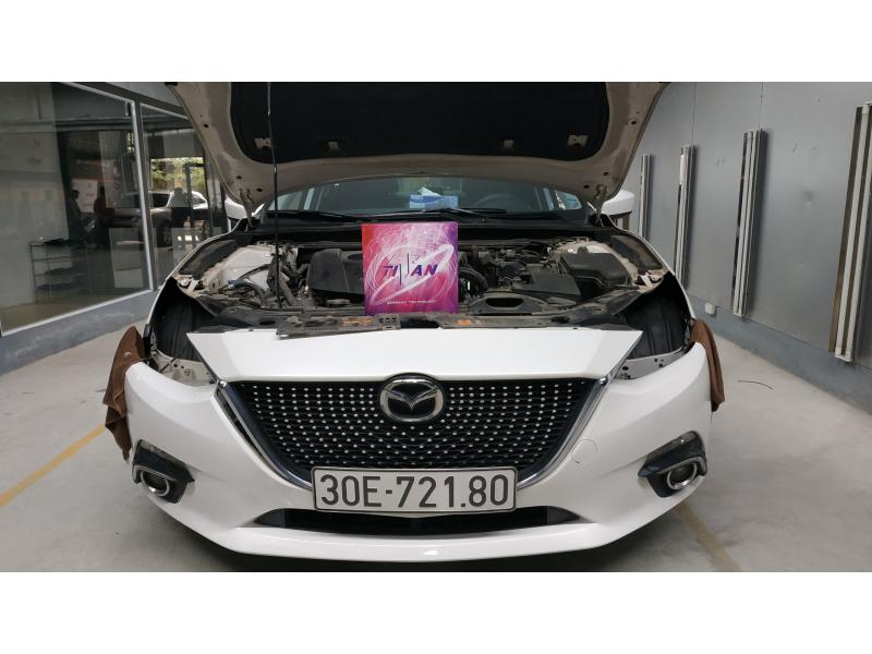 Độ đèn nâng cấp ánh sáng Bi Led Titan Gold SE cho Mazda3