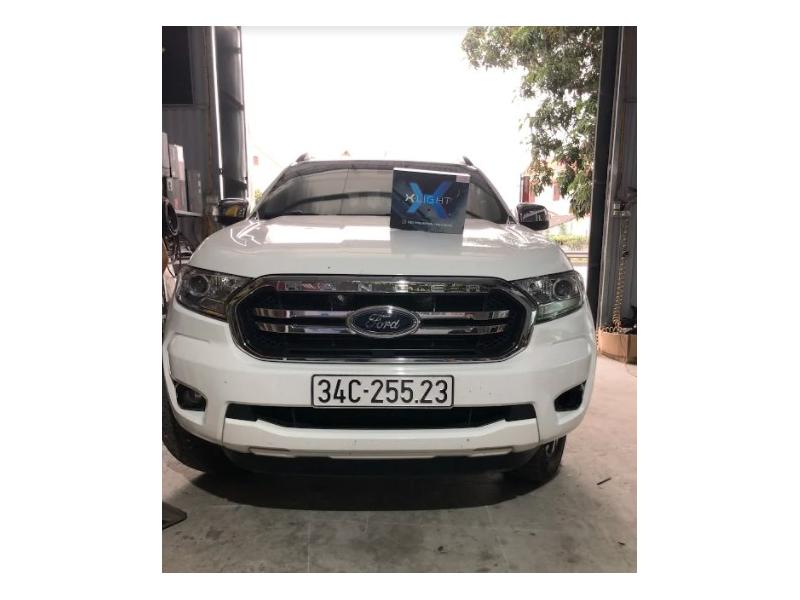 Độ đèn nâng cấp ánh sáng Nâng cấp bi gầm X-light F10 cho xe Ranger