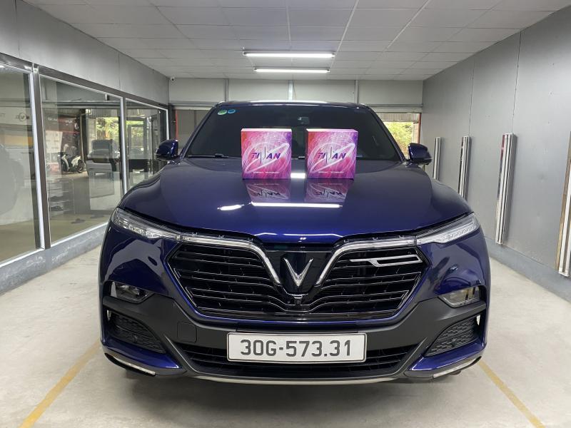 Độ đèn nâng cấp ánh sáng 4 Bi Led Titan Gold SE cho Vinfast Lux SA
