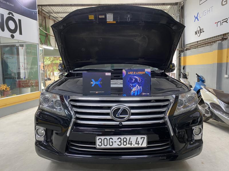 Độ đèn nâng cấp ánh sáng Combo Laser Henvvei L91 và XLight V20L Ultra cho Lexus LX570 38447