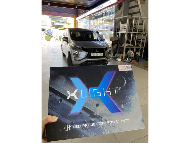 Độ đèn nâng cấp ánh sáng 29-3-2021 - XLIGHT F10 6000 (chân ford)