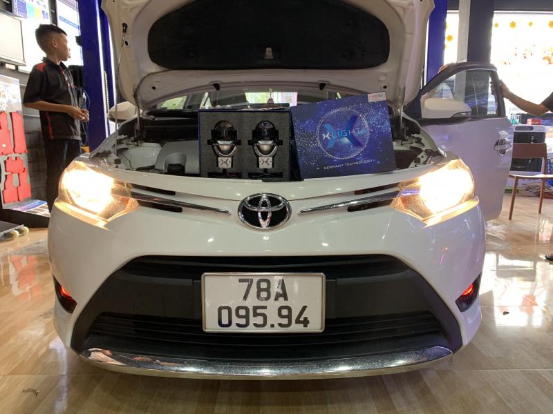Độ đèn nâng cấp ánh sáng 10/3 - BI LED X-LIGHT V20