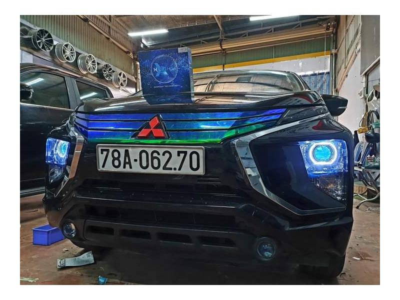 Độ đèn nâng cấp ánh sáng BI LED X-LIGHT V20 XE MITSUBISHI - TẤN TRÌNH BMT.