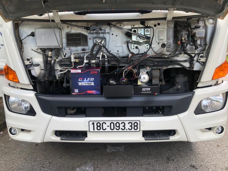 Độ đèn nâng cấp ánh sáng Bi led GTR Limited xe tải - Nam Định 09338