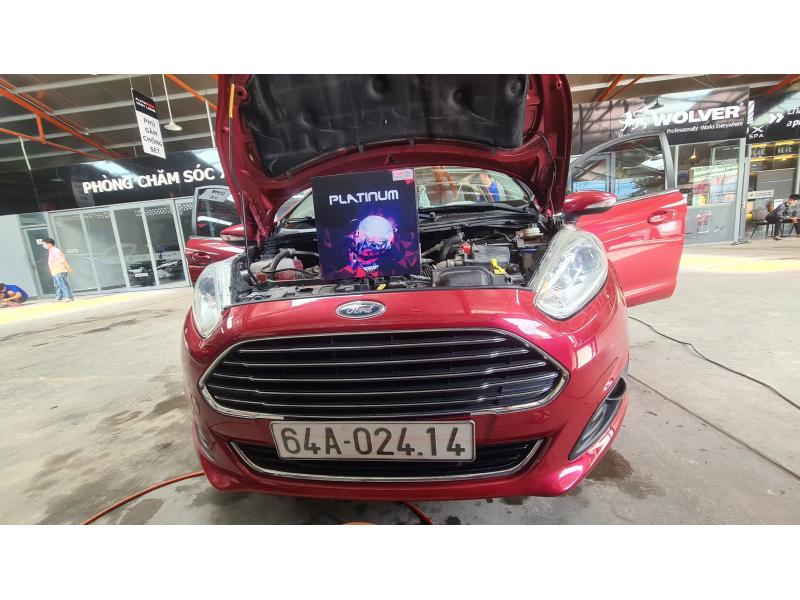Độ đèn nâng cấp ánh sáng Bi Led Titan Platinum xe Fiesta - Vĩnh Long 02414