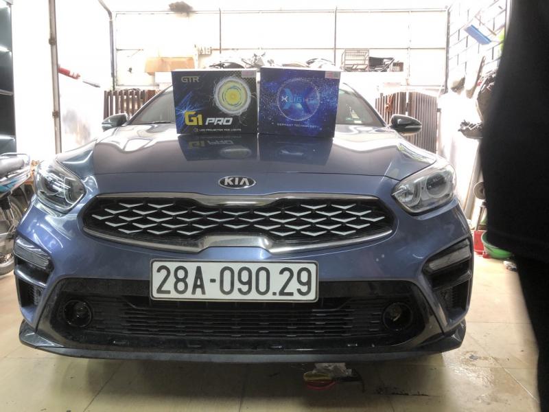 Độ đèn nâng cấp ánh sáng Nâng cấp ánh sáng bi pha laser X-light V20L