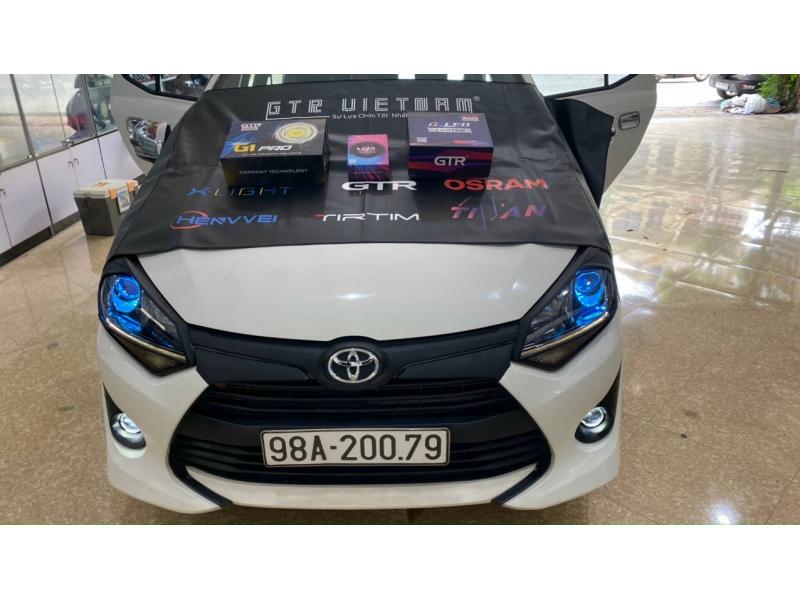 Độ đèn nâng cấp ánh sáng Nâng cấp ánh sáng bi pha led GTR Limited , bóng led X-light V12 ultra pro
