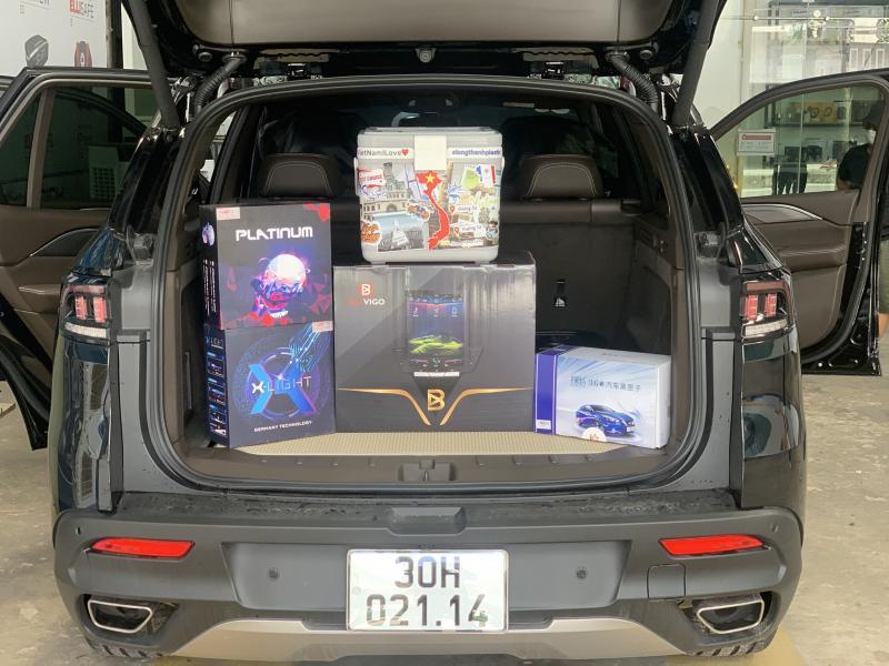 Độ đèn nâng cấp ánh sáng 14/06 - Vinfast Lux S.A nâng cấp V30 Ultra + Titan Platinum