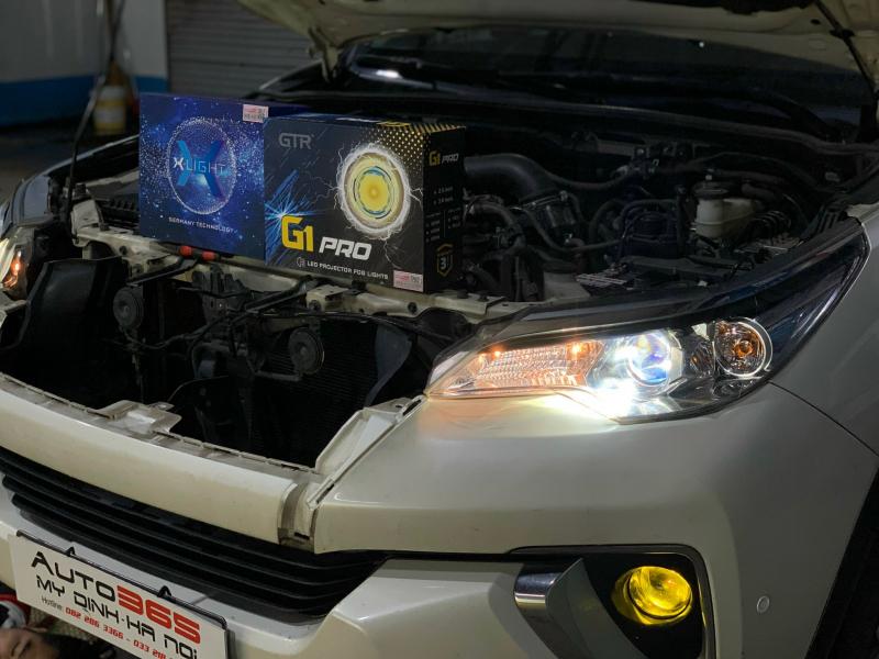 Độ đèn nâng cấp ánh sáng 25/09 - BI GẦM LED GTR G1 PRO + Bi Laser X-Light V20L