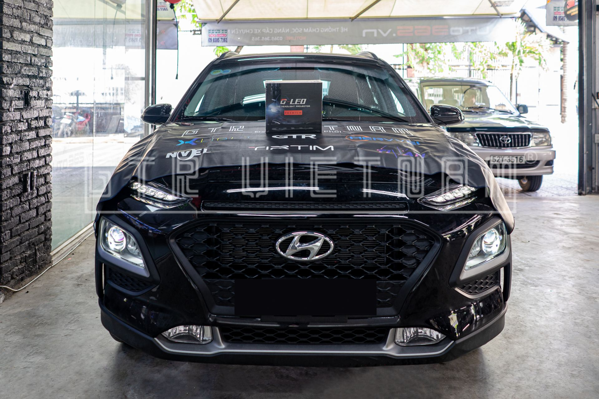 Tăng sáng cho Hyundai Kona với GTR G-led Premium