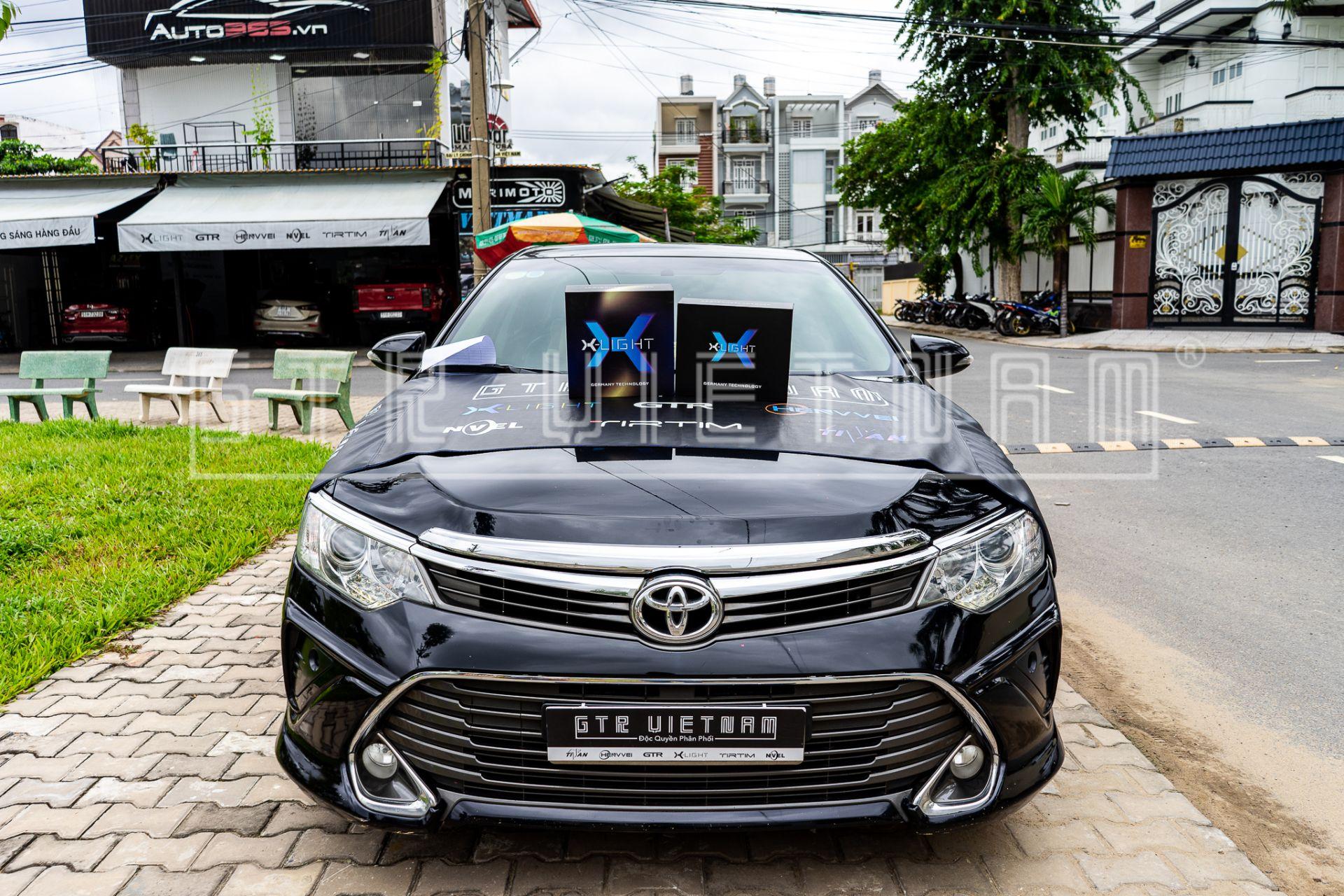 Độ đèn Toyota Camry đẳng cấp với bộ đôi Bi Laser X-light