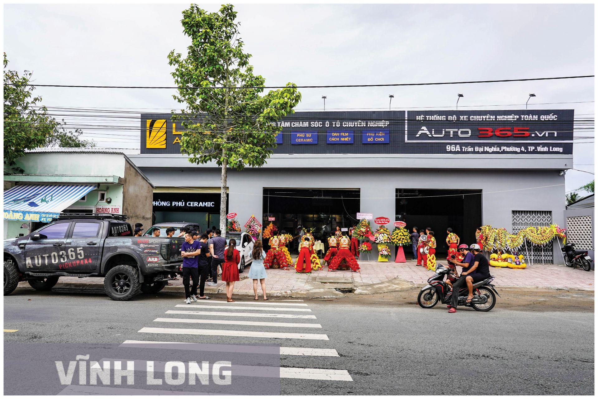 Auto365 Vĩnh Long- hệ thống đại lý GTR Việt Nam