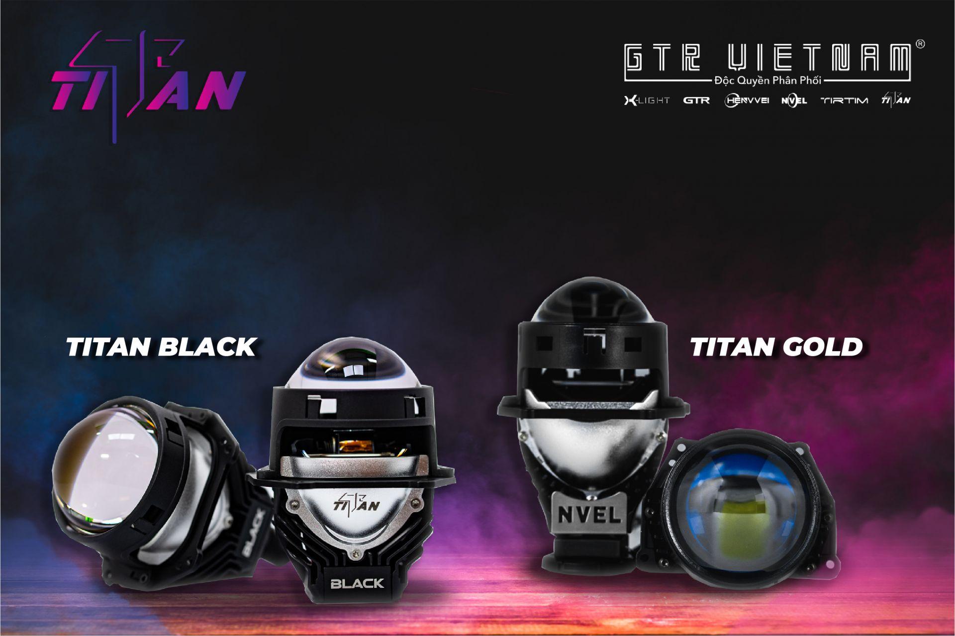 Siêu phẩm hot nhất nhà Titan trong tháng 8: Bi Led Titan Gold và Bi Led Titan Black
