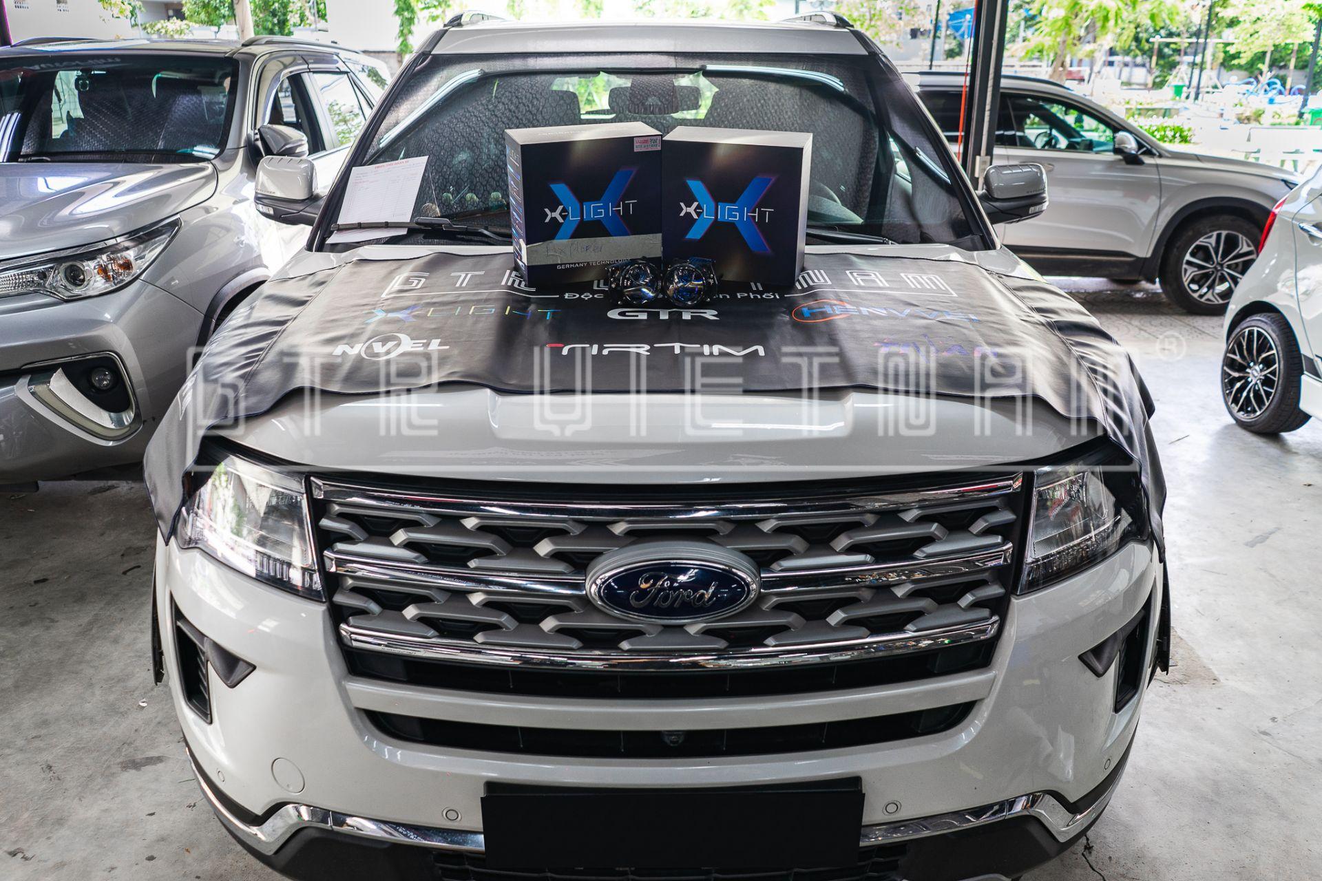 Ford Explorer độ Bi Laser X-light V30L phiên bản mới